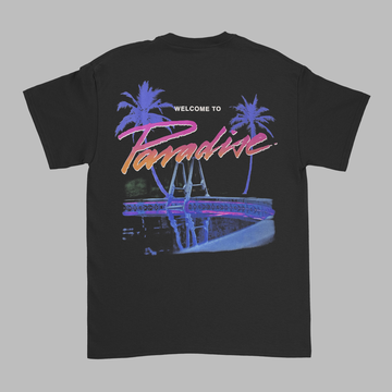 Paradise x Millinsky Black Tee (Alligator)