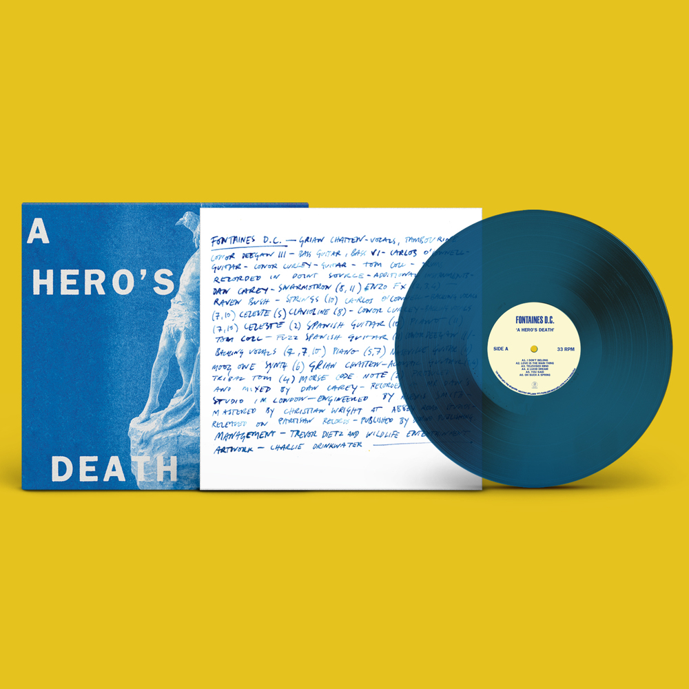 A Hero's Death. Vinyl - 1×LP, Coloured Vinyl - Limited Edition Stormy Blue Vinyl