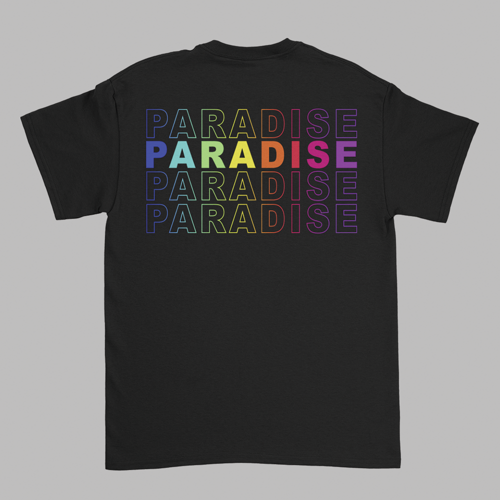 Paradise Colour Odyssey Black tee V2