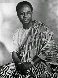 Kwame Nkrumah - Inaugural President of Ghana (1960 - 1966)