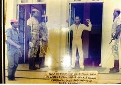 Fela Kuti visiting Thomas Sankara