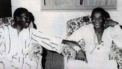 Thomas Sankara & Fela Kuti in Ouagadougou - February 1987