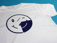 Circles - T-Shirt (Navy)
