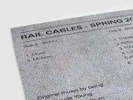 Rail Cables Spring Selection