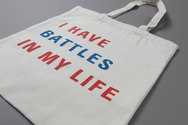 I Have Battles In My Life Natural Tote Bag