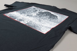 Lorenzo Dark Pointillisme Black T-Shirt