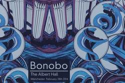 Bonobo Albert Hall A2 Poster