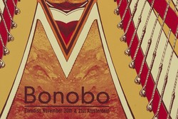 Bonobo Amsterdam Poster A2 Poster
