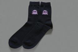 Ghostly Logo Socks - Navy - International