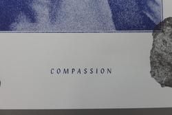 'Compassion' Risograph Art Print