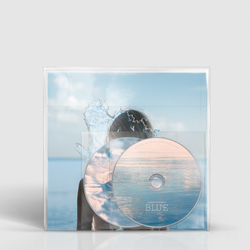 BLUE CD/DVD with book