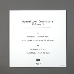 Dancefloor Detonators Vol.1