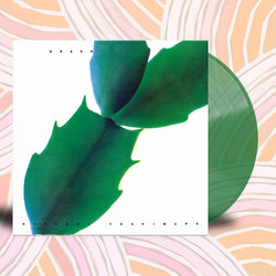 Green. Vinyl - 1×LP - Clear / Green swirl coloured vinyl