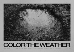 Color The Weather Poster
