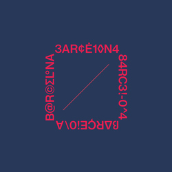 BCN graphic on navy
