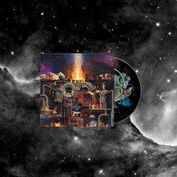 'Fire Is Coming' Black Long Sleeve T-shirt + Album Bundle