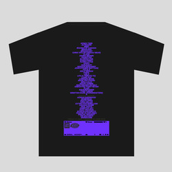 WXAXRXP x NTS Shirt 1 - Black