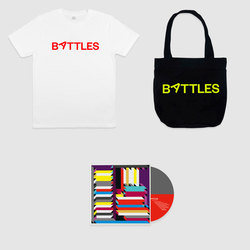 White T-Shirt, Tote + Album Bundle