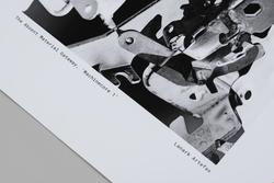'Machinecore 1' Print B/W A2