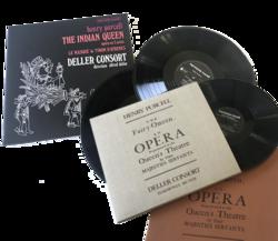 Les opéras (Indian Queen, Fairy Queen)