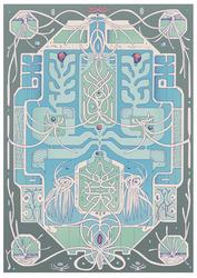 Al White Advent Print