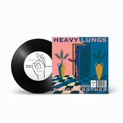 """IDLES + HEAVY LUNGS  - SPLIT 7"""" SINGLE"""