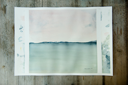 swallow' (signed watercolour)