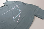 Bloc Dark Green T-shirt With Coloured Front Print