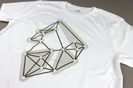 Human × Bleep White T-shirt