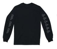 C.FM #6 Long Sleeve Tee - Black