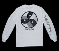 PWY.FM Long Sleeve Tee - White