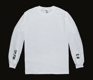 TP.FM Long Sleeve Tee - White