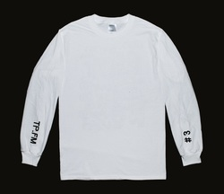 TP.FM - White Long Sleeve T-Shirt