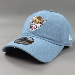 New Era Light Denim Tiger Hat