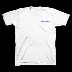 """Banco de No"" - White Short Sleeve T-Shirt"