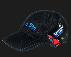 """Banco de No"" - Black Mesh Hat"