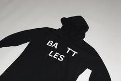 Battles Black Hoodie