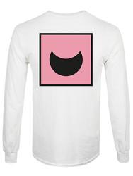 """White Long Sleeved T-Shirt """"Omega"""""""