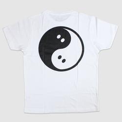 Ghostly Yin Yang Tee - White - International