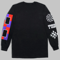 Warp x Numbers Long Sleeve T-Shirt