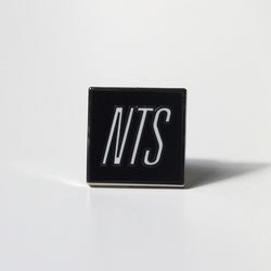 NTS ENAMEL PIN BADGE