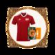 Manchester Super Reds Football Shirt + Album Bundle. Bundle - Manchester Super Reds Football Shirt + Cassette