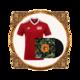 Manchester Super Reds Football Shirt + Album Bundle. Bundle - Manchester Super Reds Football Shirt + Vinyl