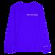 Blue Mixcloud Unisex L/S Tee