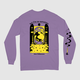 Sorceress Long Sleeve Tee - Purple - BACK