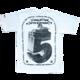 WORLDWIDE fifth birthday t-shirt