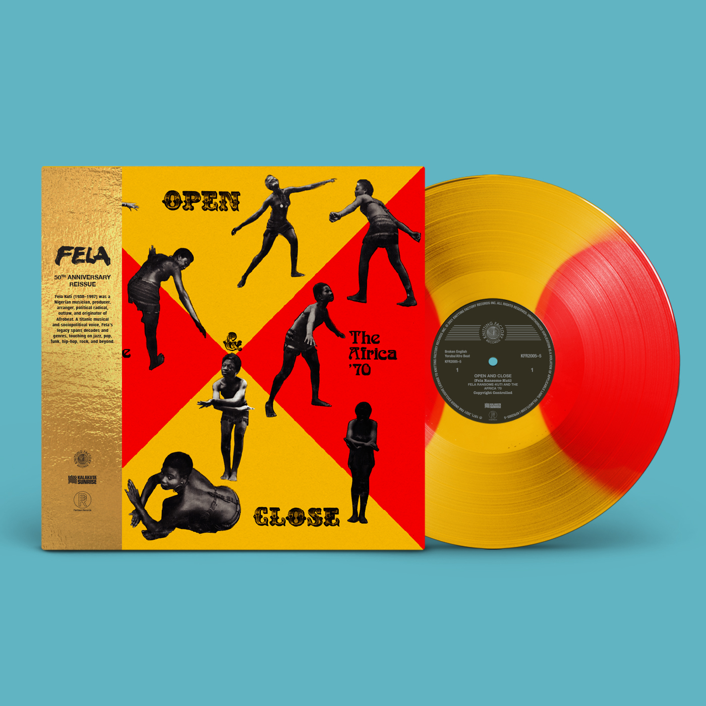 50th Anniversary of Open & Close available for Record Store Day 2021
