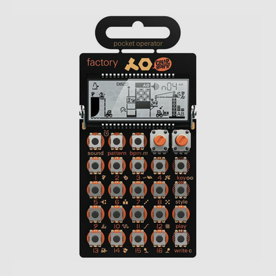 PO16 Pocket Operator Factory Synthesizer