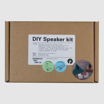 Technology Will Save Us Diy Speaker Kit Bleep