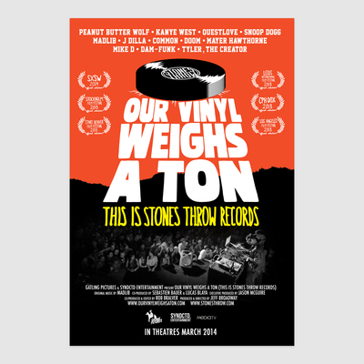 Our Vinyl Weighs A Ton : This Is Stones Throw Records